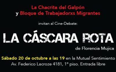 [EVENTO] LA CHACRITA DEL GALPÓN Y EL BLOQUE DE TRABAJADORXS MIGRANTES - BTM INVITAN La Cáscara Rota (cine-debate)